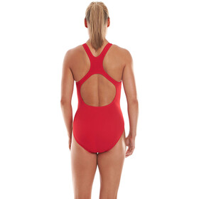 speedo Essential Endurance+ Medalist Swimsuit Dame fed red